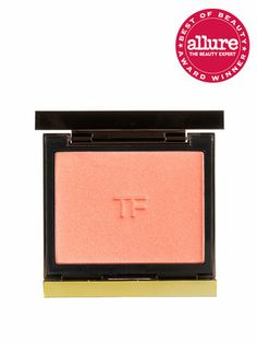 Tom Ford Cheek Color looks as though you're honest-to-goodness blushing. Love Lust (shown here) is a peachy-pink that flatters every skin tone.
