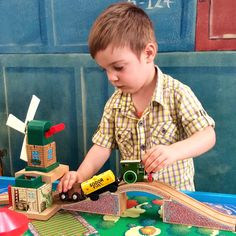 It's all about hands on Thomas activities! Day out with Thomas 2015.