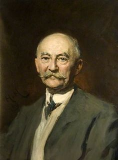 Thomas Hardy (1840–1928), 1909 by Sir Hubert von Herkomer (British 1849-1914)