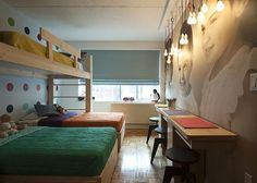 3 kids one bedroom beds - Google Search