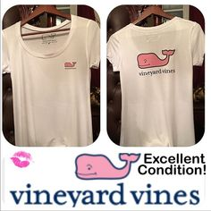 Vineyard Vines T Shirt Vineyard Vines women's soft white t shirt, worn only a couple times, excellent condition. Same day and next day shipping! ❌PayPal❌Trades❌Holds. Vineyard Vines Tops Tees - Short Sleeve