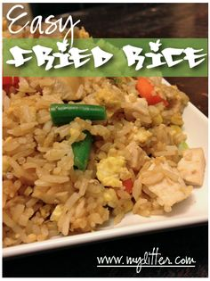 Easy Fried Rice Recipe - Family Friendly and Quick! - MyLitter - One ...