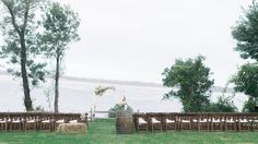 Steep Hill Beach Ceremony on The Crane Estate, Ipswich MA - Julie Paisley Photography, Danielle Mancini Events
