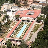 Want to Go to There: The Getty Villa Malibu: Roman architecture and Antiquities... by the ocean!