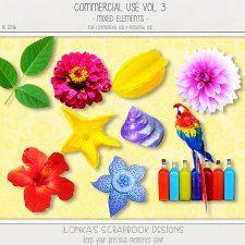 Commercial Use Vol 3 (Mixed Elements) by Ilonkas Scrapbook Designs #CUdigitals cudigitals.comcu commercialdigitalscrapscrapbookgraphics