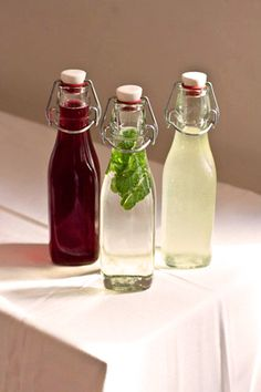 DIY these simple infused syrups for fancy-pants drinks. Photo by Chris Baker.