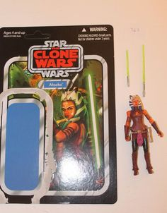 Star Wars The Vintage Collection Ahsoka The Clone Wars Expanded Uni. (Lot #363) #Hasbro