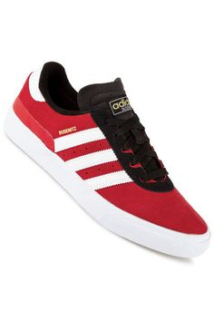 adidas Skateboarding Busenitz Vulc Zapatilla (black run white black)