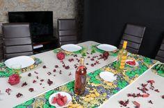 Tissu Wax, Linge De Table, Mariages Africains, Décoration Ethnique, Chemins  De Table