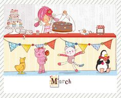Calendar download: March It Pdf, Calendar Pages, We Are Family, Have Fun, March, Kids Rugs, Uk News, Button, Child