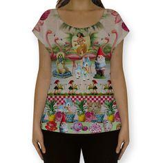 Camiseta fullprint kitsch romantico de @bebelfranco | Colab55