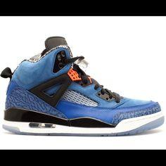 51c330a69927ec Retro Air Jordan Spizike Knicks Blue   Orange Air Jordan