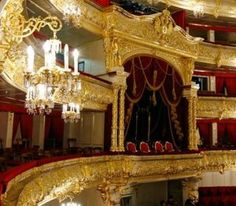 Newly renovated Bolshoi Ballet Theater, Moscow; 2011