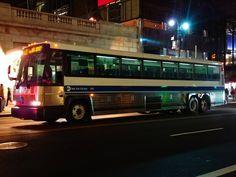 Express Bus, 42nd Street, Busses, Park Avenue, Motorhome, New York City, Transportation, Foundation, Explore