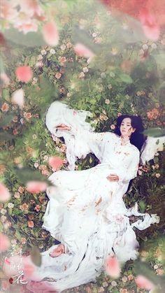 Ten Miles of Peach Blossom/Eternal Love Chinese Movies, Chinese Art, Peach Blossoms, Cherry Blossom, Eternal Love Drama, Chines Drama, Deep Love, Period Dramas, Asian Art