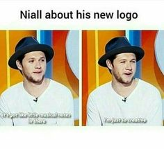 """""""I'm just so creative"""" yeah Niall. One Direction Jokes, One Direction Pictures, I Love One Direction, Niall Horan Funny, Funny Memes, Hilarious, 1d Imagines, Irish Boys, 1d And 5sos"""
