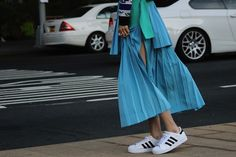 A trend you should run with: Sneakers are everywhere