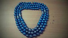 Blue heart terracotta