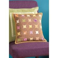 Quick Faux Sashiko Pillow | InterweaveStore.com