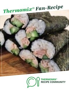 Recipe PERFECT SUSHI RICE by Aussie Thermomixer, learn to make this recipe easily in your kitchen machine and discover other Thermomix recipes in Pasta & rice dishes. Perfect Sushi Rice Recipe, Sushi Rice Recipes, Healthy Recipes, Rice Dishes, Food Dishes, Sushi Fillings, Kneading Dough, Homemade Seasonings, Smart Kitchen