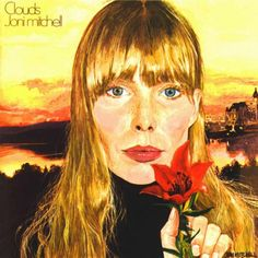 Joni Mitchell self(?) portrait  one of her first albums i bought she is so talented