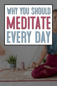 If you've been putting off meditation, then you need to read this post. I've got the 10 top reasons to meditate every day. Learn mindfulness, cope with stress, be present, and more. Meditation For Stress, Meditation Benefits, Meditation For Beginners, Meditation Techniques, Chakra Meditation, Mindfulness Meditation, Guided Meditation, Meditation Music, Mindfulness Quotes