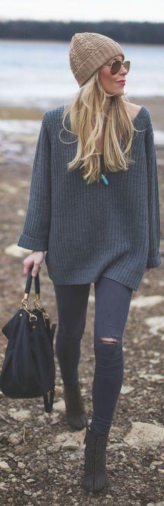 oversized sweater #oversized