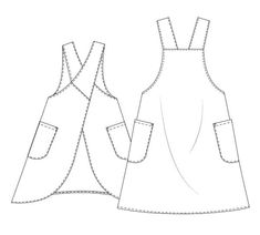 Crochet clothes 531847037245726032 - Patron tablier japonais Maria Apron – MAVEN patterns Source by sandrinedcharles Coin Couture, Couture Sewing, Clothing Patterns, Dress Patterns, Sewing Patterns, Maxi Dress Tutorials, Japanese Apron, Apron Tutorial, Creation Couture