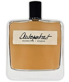 - Autoportrait  Eau de Parfum by  Olfactive Studio / Notes: Bergamot, elemi, Siam benzoin, incense, musks, oak moss, cedar, vetiver. Smells like a monocled, fussy theatre manager in 1930's Berlin. Citrus dries down quickly to decaying flowers and fruit, with an unpleasant metallic tone...like Polo on someone unwashed. No.