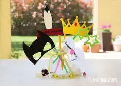 Il photo booth fai-da-te per far giocare i bimbi (anche) ai matrimoni.