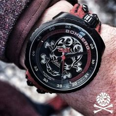 dangordon:  Another image of the ➖Bomberg BOLT68 SKULL ➖ by @watchanish and @bombergofficial  new entry from #baselworld2015 by thewatchesarmy http://ift.tt/1Hwi4G7