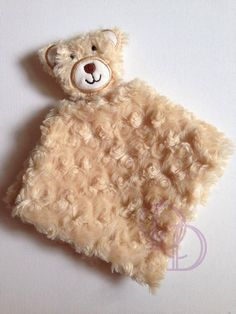 New Bear Animal Blanket ITH Embroidery Design by DigitizedDelights