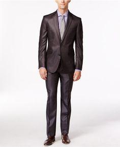 Kenneth Cole Reaction Brown Stripe Slim-Fit Suit. Golden Lifestyle · Men s  Suit   Blazer · TOM FORD Buckley Base Geometric-Print Suit Jacket ... 245461ca4