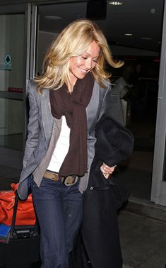 Kelly Ripa Photos: Celebrities at LAX