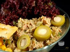 Salata de ton Romanian Food, Food Art, Cobb Salad, Foodies, Salads, Eggs, Cooking, Breakfast, London