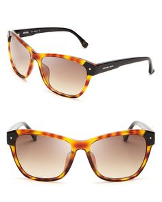 Michael Kors Zoey Oversized Wayfarer Sunglasses | Bloomingdale's
