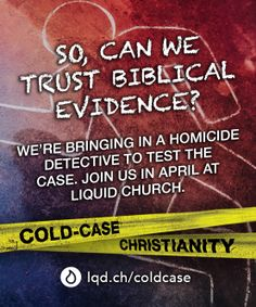 How do we know the Bible is telling the truth. Are the Gospel's reliable eyewitness testimony. Join us for a special investigative series featuring homicide detective J. Warner Wallace as he applies his cold case investigation skills to the Bible!