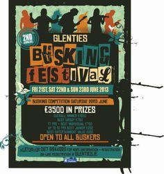 Glenties Busking Festival 21, 22, 23 June 2013