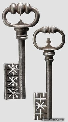 Old Keys I like | Keys to the Dungeon ~ Lock them up. Said the King