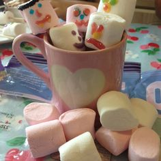 Frugal fun for Halloween - 5 ideas from Frugal Family, including these scary marshmallows!