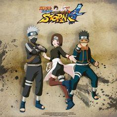 Naruto Shippuden: Ultimate Ninja STORM 4 will showcase a youthful trio Naruto Shippuden, Boruto, Ninja, Tobi Obito, Naruto Characters, Fictional Characters, Anime Base, Team 7