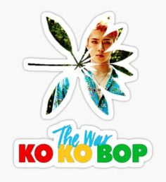 EXO Sehun The War KO KO BOP Sticker