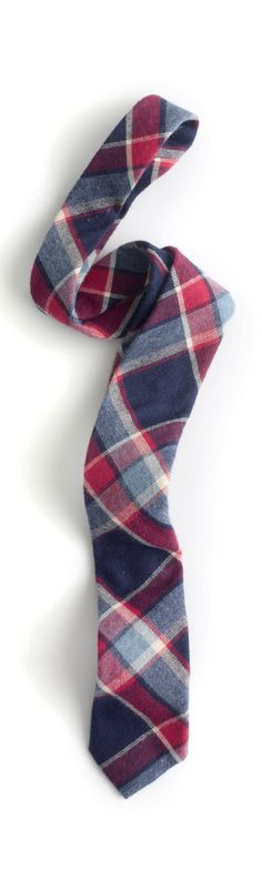 Every man needs a plaid tie in his stocking this year