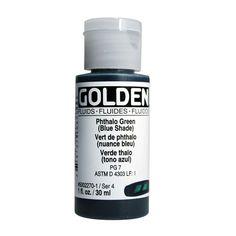 Golden Fluid Acrylics 1oz. in