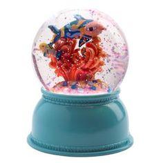 Nachtlampje sneeuwbol : Vissen