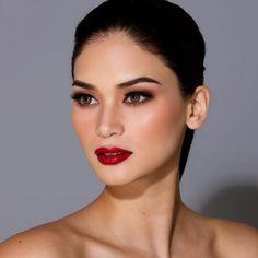 Pia Wurtzbach Red Lipstick Makeup