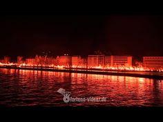 120 Jahre Fortuna Düsseldorf - Pyroshow auf der Rheinpromenade - YouTube