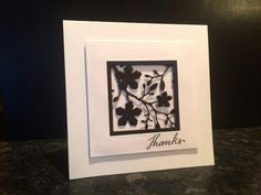 IC491 - Elegant Thanks by girlgeek101 - Cards and Paper Crafts at Splitcoaststampers