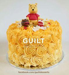 Winnie the pooh buttercream