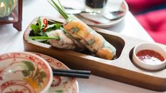 Rice Paper Rolls in the trend 2016  http://www.goodfood.com.au/good-food/food-news/what-are-2016s-food-trends-20151230-glvw2z.html >You can learn to make them  http://www.otaokitchen.com.au/hanoi-classics/
